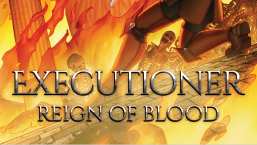 Executioner Reign of Blood Cover Banner