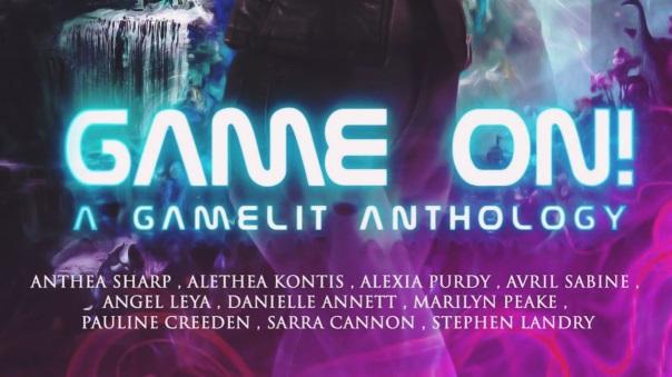 Game On GameLit Anthology Banner