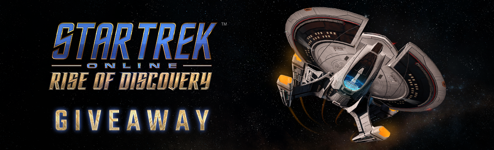 Star Trek Online Rise of Discovery Giveaway Wide Banner