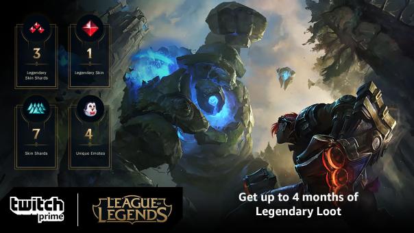 Twitch Prime League of Legends