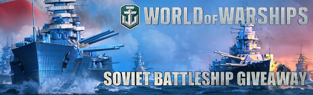 WoWs Soviet Battleship Large Banner