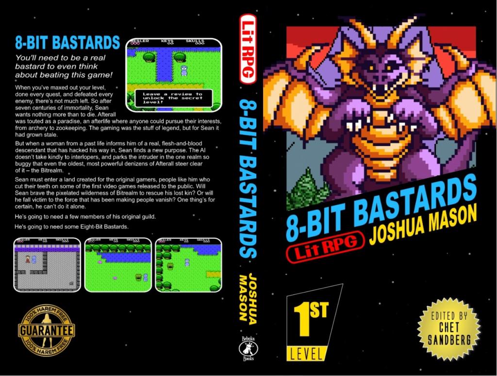 8-Bit Bastards Press Release Cover