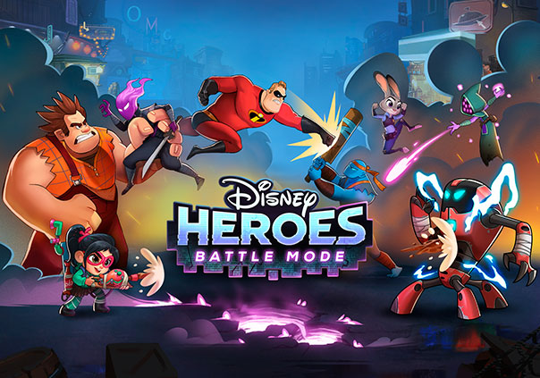 Disney Heroes: Battle Mode Game Profile Image