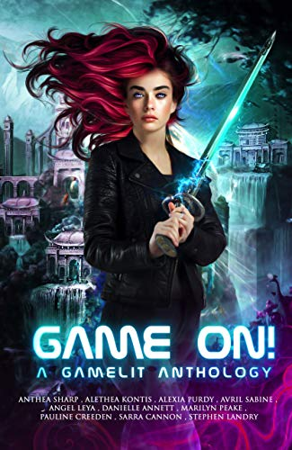 Game On GameLit Anthology Cover for Review