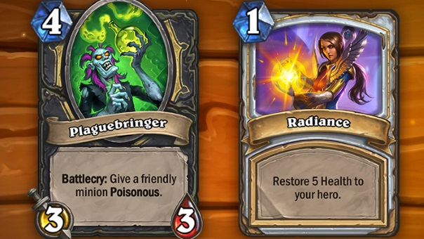 Hearthstone Card Updates image