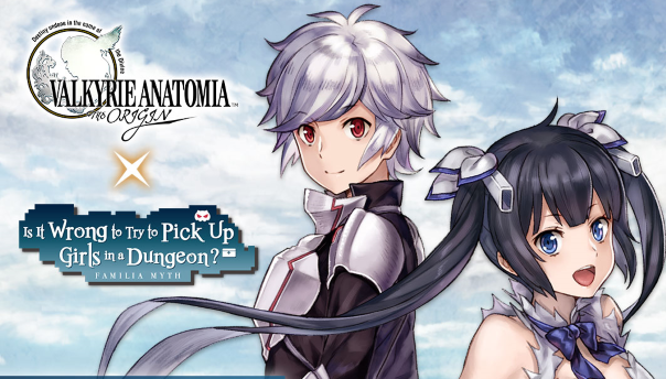 Valkyria Anatomia Anime Crossover image