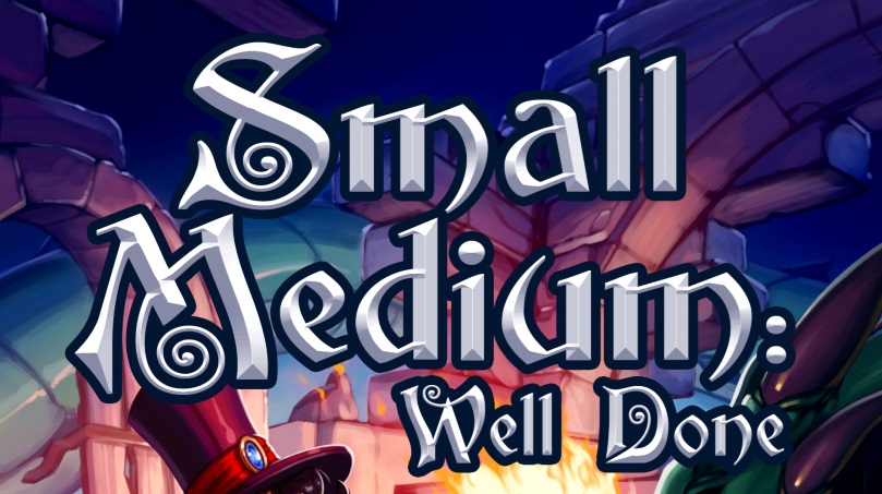 Small Medium Well Done LitRPG Cover Banner