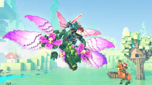 Trove Going Green on Console