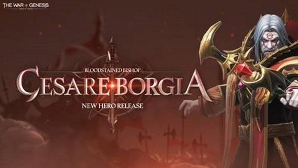 War of Genesis - Cesare Borgia Update