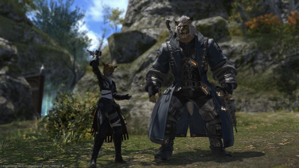 FFXIV Gunbreaker and Trainer