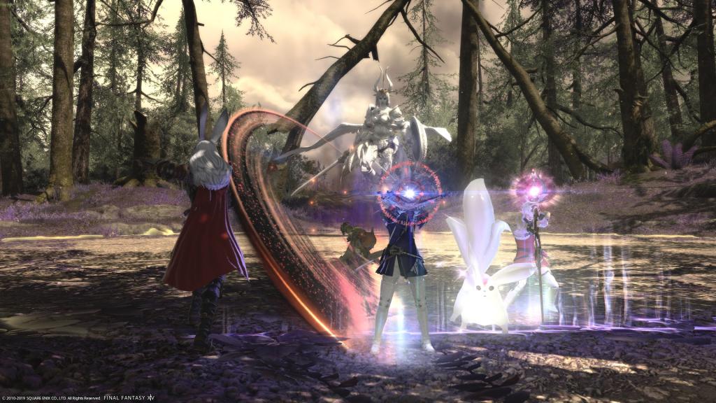 FFXIV Shadowbringers Boss Battle