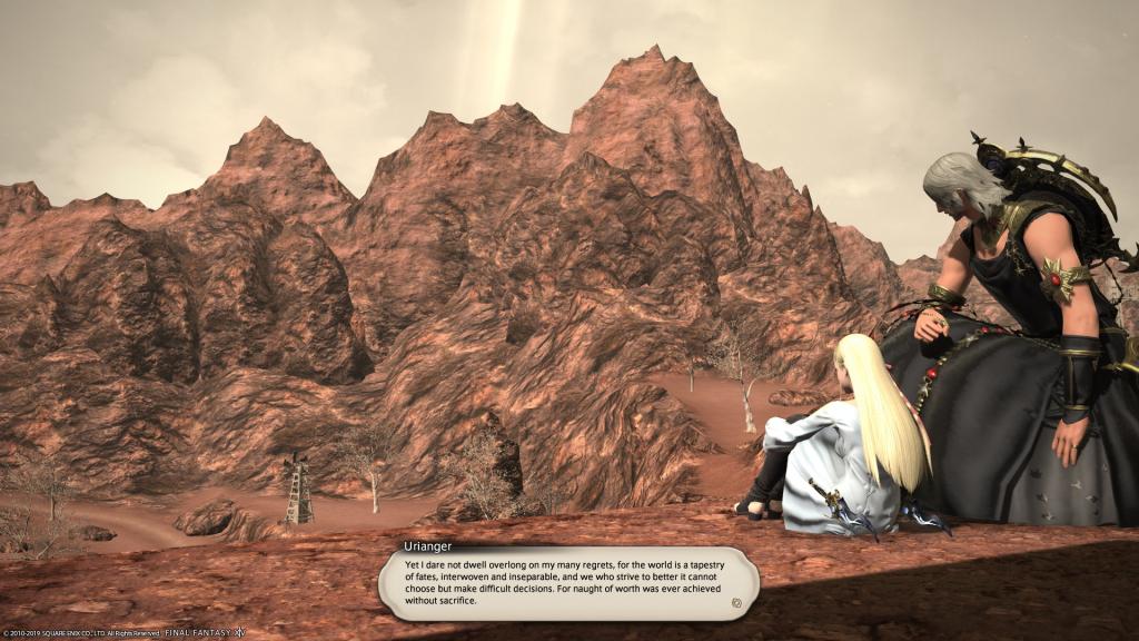 FFXIV Shadowbringers Sacrifice Quote