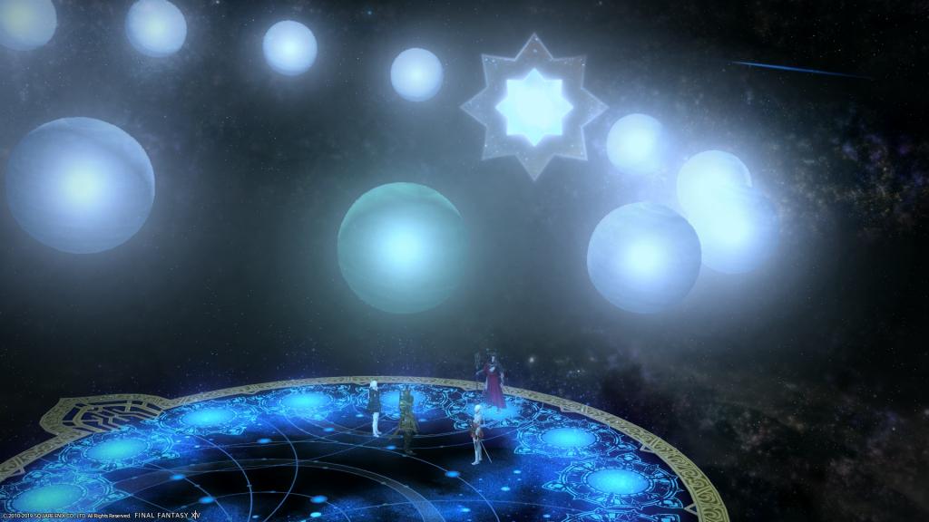 FFXIV Shadowbringers The Stars