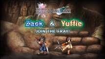 FFBE Zack and Yuffie