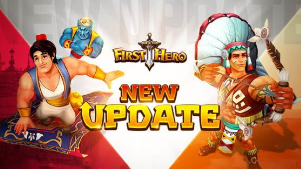 First Hero Aladdin and Crazy Horse