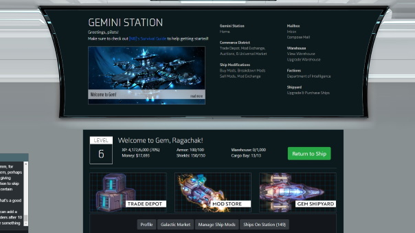 Gemini Station Preview