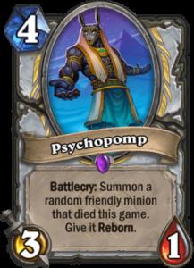 Hearthstone Saviors of Uldum PsychoPomp