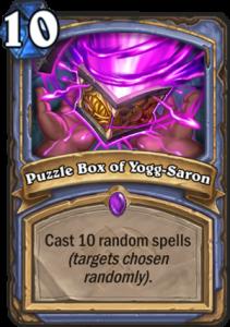 Hearthstone Saviors of Uldum Puzzlebox