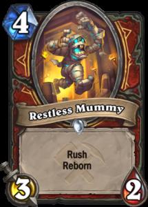Hearthstone Saviors of Uldum Restless Mummy