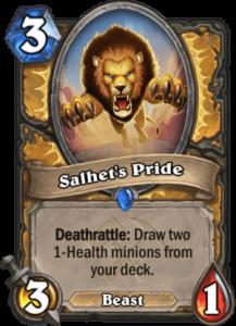 Hearthstone Saviors of Uldum Salhets Pride