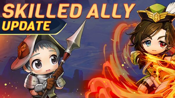 MapleStory Skilled Ally Update