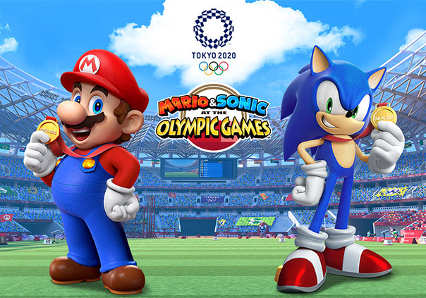 Mario and Sonic Olympics 2020 Profile Banner