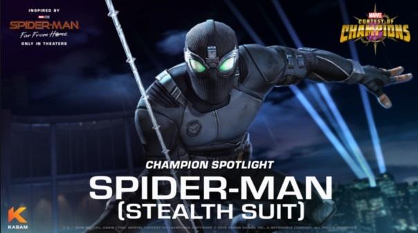 Marvel CoC - Spider-Man - Stealth Suit