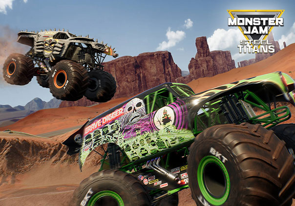 Monster Jam Steel Titans Game Profile Image