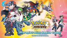 Pokemon Masters pre-registration