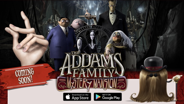 The Addams Family mobile game