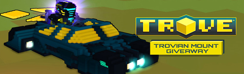 Trove Trovian Tumbler Giveaway MMOHuts Banner