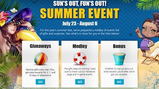 Webzen Summer Event