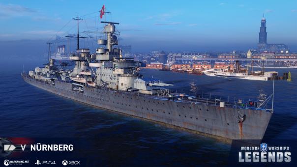 World of Warships German Navy update