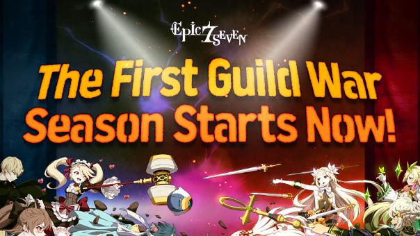 Epic Seven Guild War