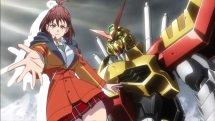 Gundam Battle Gunpla Warfare opening animation