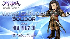 Dissidia Final Fantasy Opera Omnia Vayne