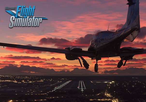 Microsoft Flight Simulator 2020 Profile Banner