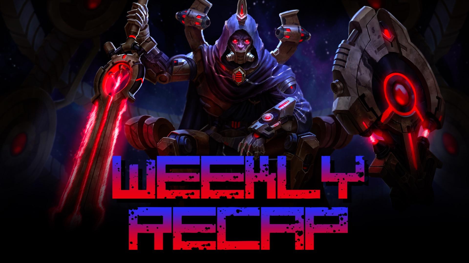 Weekly Recap August 23rd 2019