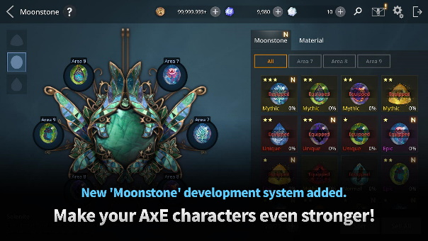 AxE Moonstone Update