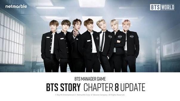 BTS World Chapter 8 Update