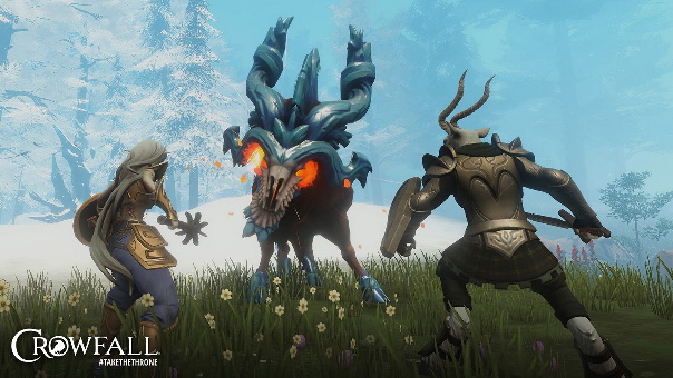 Crowfall The Infected world