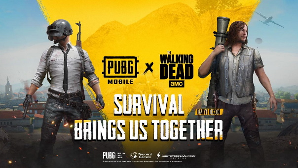 PUBG Mobile x The Walking Dead collab