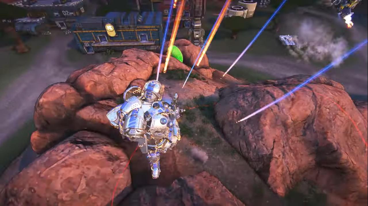 PlanetSide Arena_ Launch Gameplay Trailer