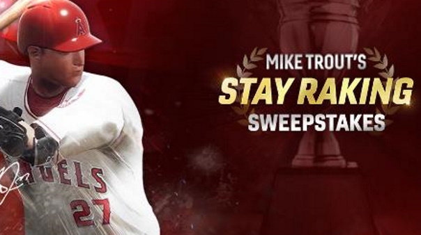 Mike Trout sweepstakes image