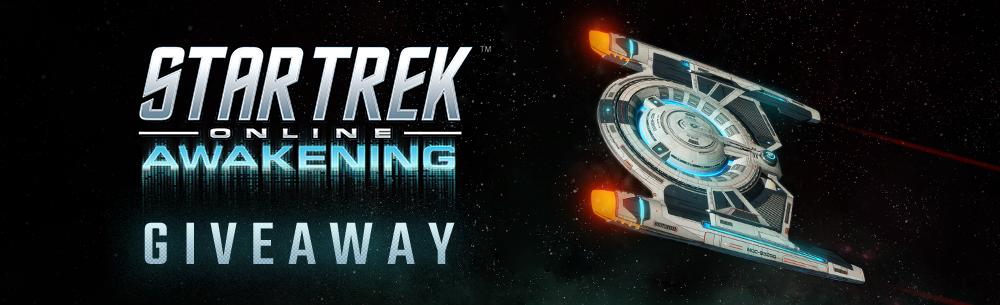 Star Trek Online Awakening Giveaway Banner