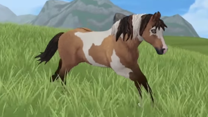 Star Stable Curly Horse