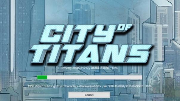 City of Titans Avatar Builder
