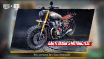 Daryl Dixon PUBG Motorcycle Announce Trailer