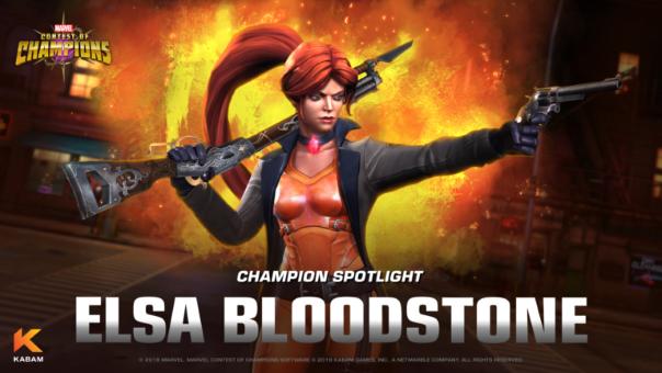 Marvel Contest Elsa Bloodstone