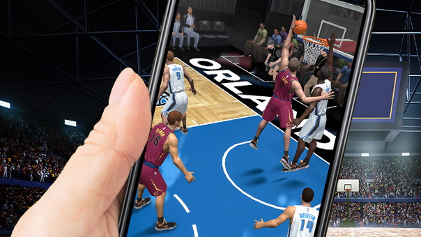 NBA NOW mobile launch